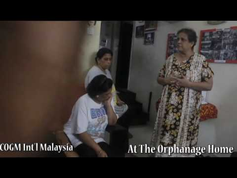 Church Of God Mission Int'l Malaysia. Visits The Orphanage.