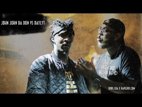 Daylyt vs John John Da Don | Rap Grid & Dope Era's No Mask | Rap Battle