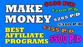 The best affiliate programs to make money online (worldwide)