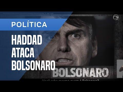 CAMPANHA DE HADDAD MOSTRA CENAS DE TORTURA NA TV PARA CRITICAR BOLSONARO