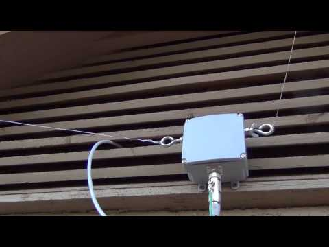 HackRF on Sky Loop Antenna and Talented Balun