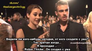 Shailene Woodley and Theo James 2 part - русские титры