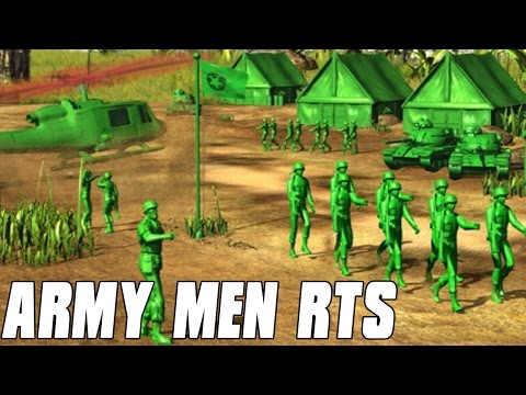 Army Men RTS Multiplayer Plastic Armies 2v2 Gameplay