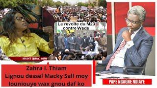 "Zahra I. Thiam : ""Lignou dessel Macky Sall moy louniouye wax gnou daf ko"""