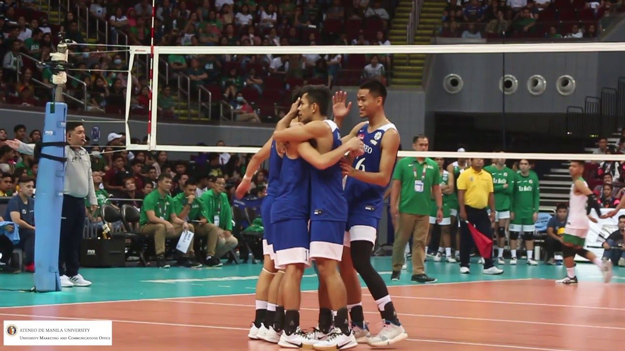 Ateneo Men S Volleyball Team Vs Dlsu Green Spikers S82 Round 1 Youtube