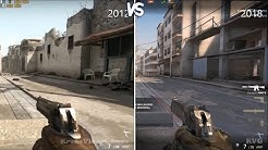 Counter-Strike: Global Offensive (2012) - vs Counter-Strike: Global Offensive (2018) - Comparison HD