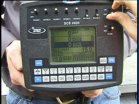 goldacres raven 4400 console direct chemical injection  how to operate in  manual mode