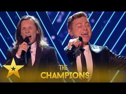Collabro: The VIRAL Singing Group Big RETURN In Front Of Britain!| Britain's Got Talent: Champions