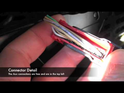 Renault Espace adding mp3 player / iPod Aux - YouTube