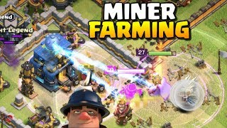 MINER FARMING at Town Hall 12 - TH12 Attacks Ep. 6 | Clash of Clans