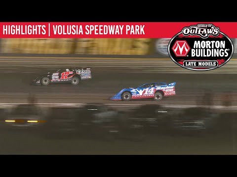 World of Outlaws Morton Buildings Late Models Volusia Speedway Park, February 13, 2020 | HIGHLIGHTS