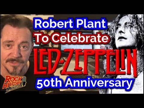 Robert Plant On Board for Zeppelin's 50th - What Could Happen?