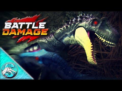 NEW 2019 Jurassic World Mattel Battle Damage Albertosaurus Review! || Biggest Battle Damage Figure!