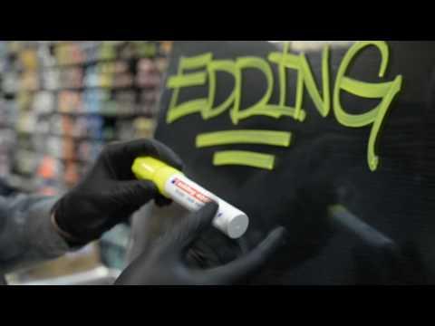 Видео тест Graffitimarket Edding 4090