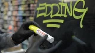 видео тест Graffitimarket Edding 4090