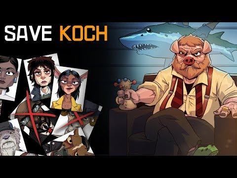 СВИН-МАФИОЗИ или КРЕСТНЫЙ ОТЕЦ в мире животных Save Koch #1