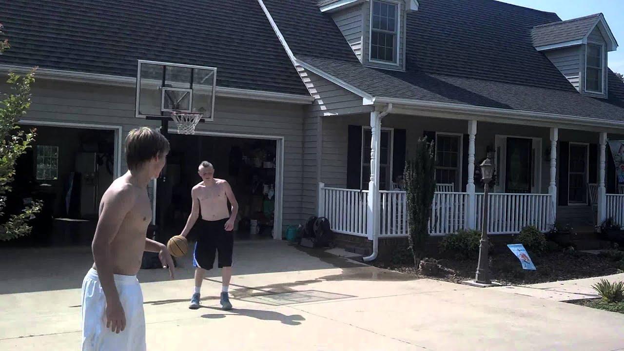 backyard basketball youtube