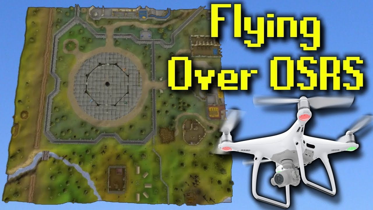 Flying A Drone Over OSRS Runescape