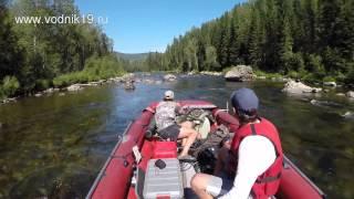 Река Амыл - 2014 (трейлер) I фрегат Jet тоннель I водомет