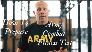 How to Prepare for the Army Combat Fitness Test (ACFT)