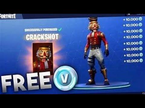 How To Get The Crack Shot Skin 100% Free No V-bucks Needed