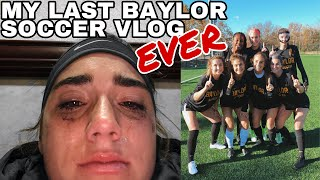 MY LAST BAYLOR SOCCER VLOG | Big XII tournament in Kansas City!!!!!!!