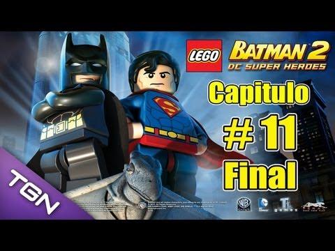 Lego Batman 2 DC Super Heroes  - Capitulo 11 ( Final ) - HD 720p