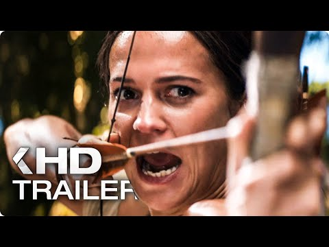 Tomb Raider ALL Trailer & Clips (2018)