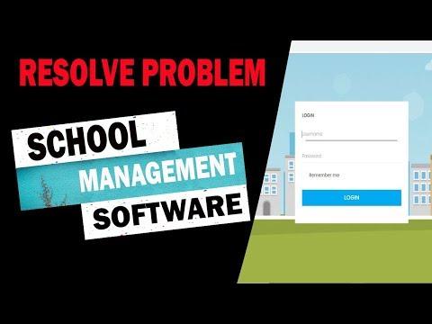 School Management Software |Resolve Problem| Complete Software