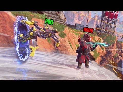 BEST WRAITH PORTAL OUTPLAY EVER!!! (Apex Legends Gameplay)