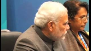 Indian PM Modi meets Saudi Crown Prince Abdul aziz in Brisbane