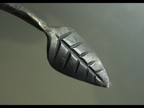 Blacksmithing - How to forge a Leaf