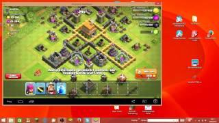clash of clans Angriffe#1 Fail!! Verkackt