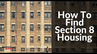 How To Find Section 8 Housing