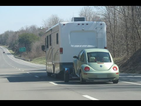 Selecting a towed vehicle for your Motorhome.