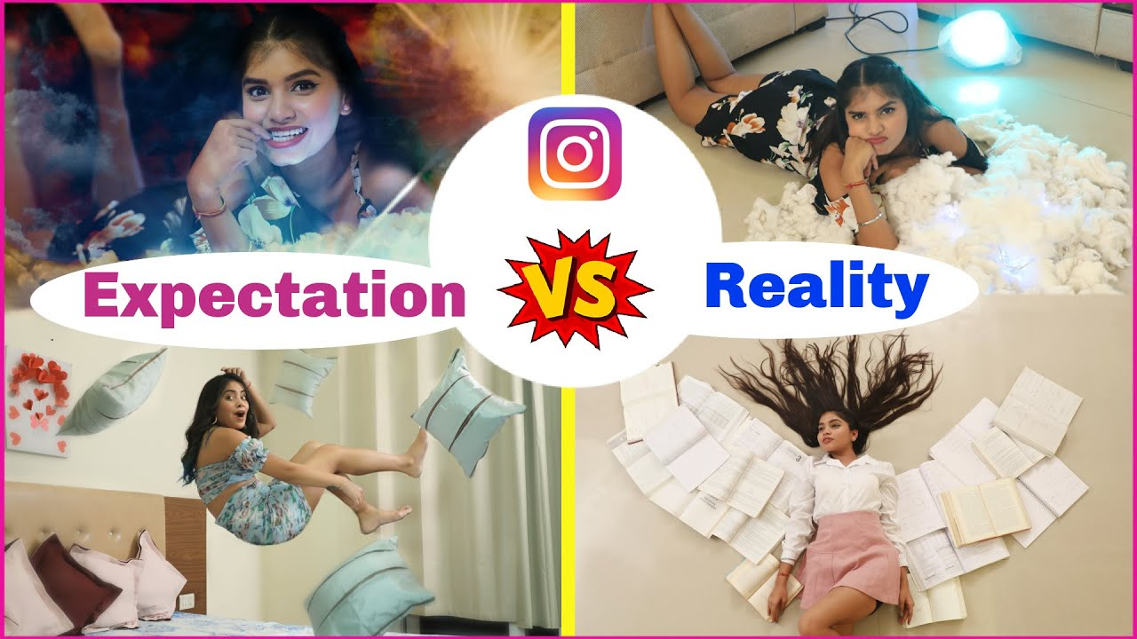 Instagram Expectation vs Reality | Photography Hacks | Anaysa