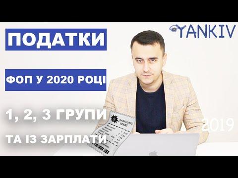 Податки ФОП 2020
