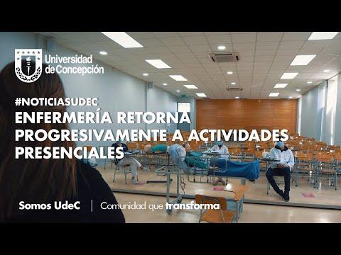#NoticiasUdeC: Enfermería retorna progresivamente a actividades presenciales