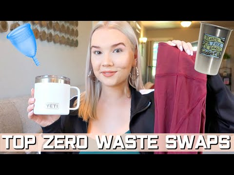 THE 8 BEST ZERO WASTE SWAPS I MADE IN 2019 | Sustainable Lifestyle Hacks