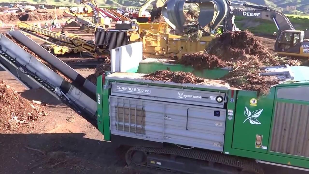 Green Waste Shredder