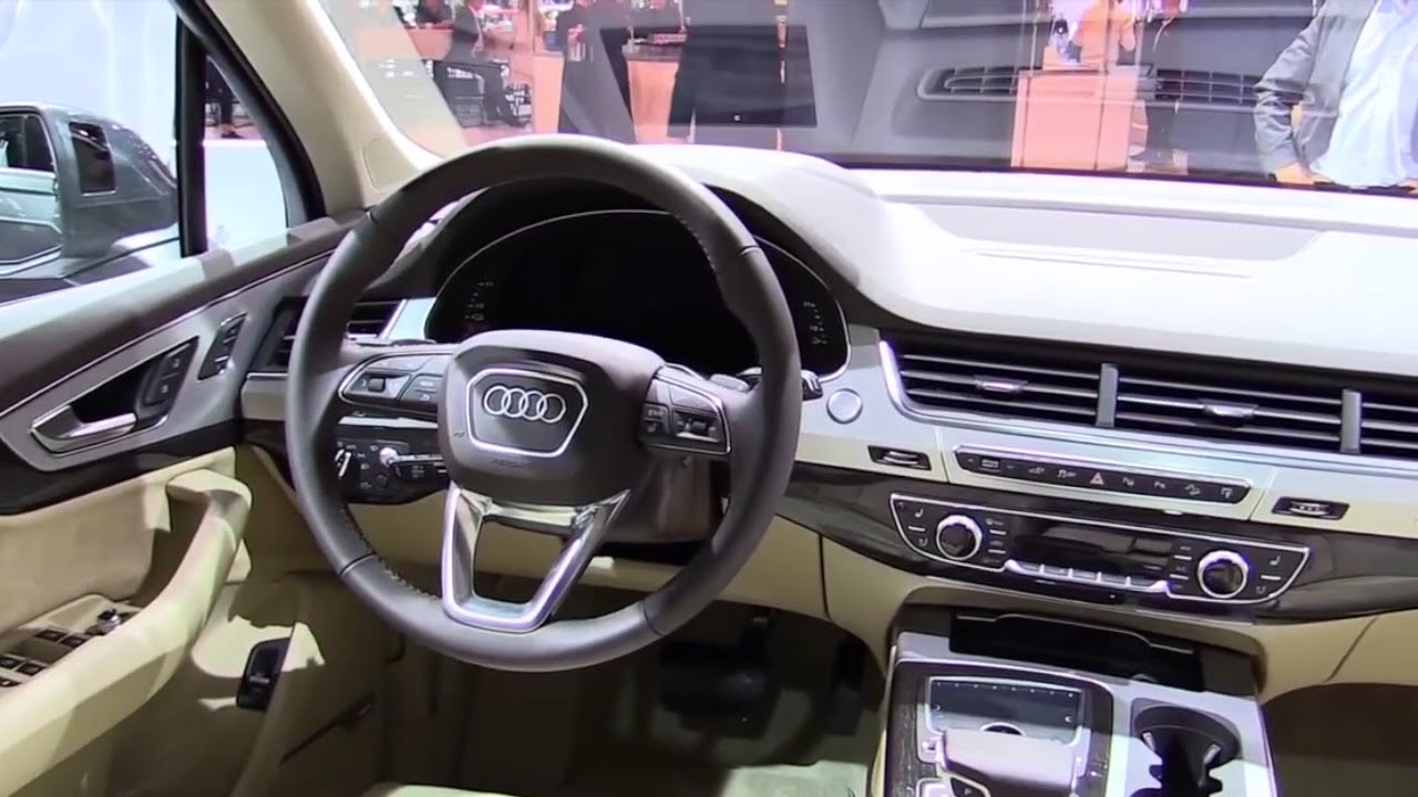 2018 Audi Q7 Etron Fullsys Features New Design Exterior Interior First Impression Youtube