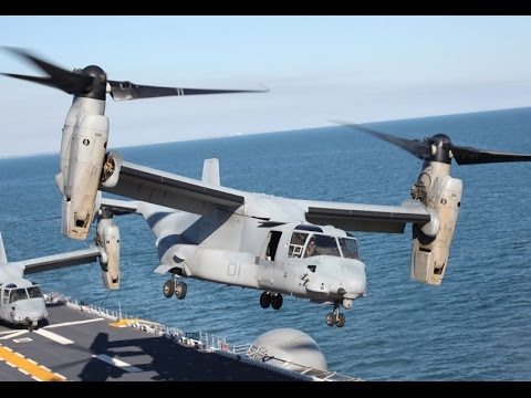 US Military Transport Aircraft Bell Boeing V-22 Osprey Full Documentary
