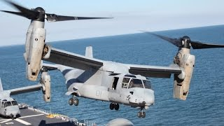 US Military Transport Aircraft Bell Boeing V-22 Osprey Full Documentary