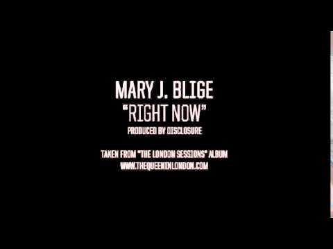 Mary J  Blige – Right Now