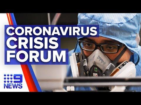Urgent Forum Underway To Find Coronavirus Vaccine | Nine News Australia