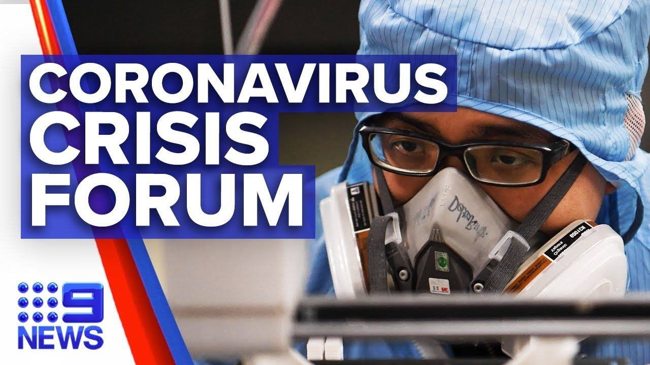 Urgent forum underway to find coronavirus vaccine | Nine News Australia