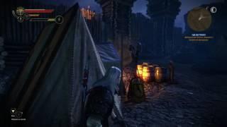 the Witcher 2: Прохождение лагеря Хенсельта за 4 минуты