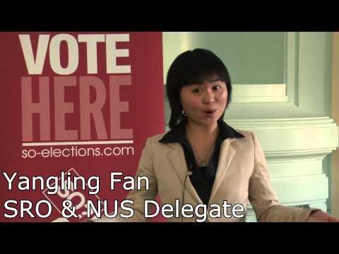 Yangling Fan - SRO & NUS Delegate