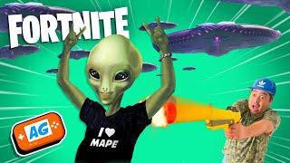 INVASION Extraterrestre en la ISLA de FORTNITE  en DIRECTO