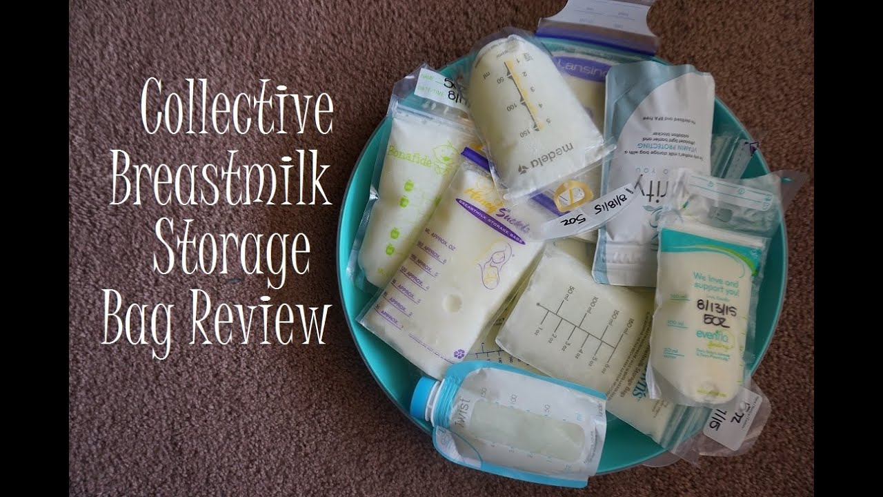 Collective Breast Milk Storage Bag Review Part 1 2015